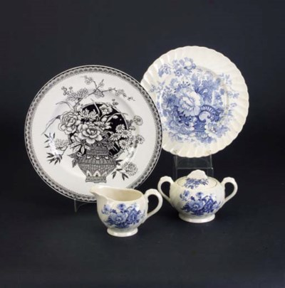 'Charlotte' a part teaset for