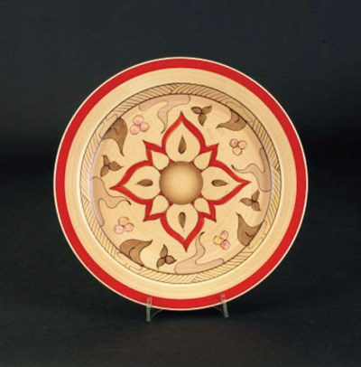 'Persian' a plate