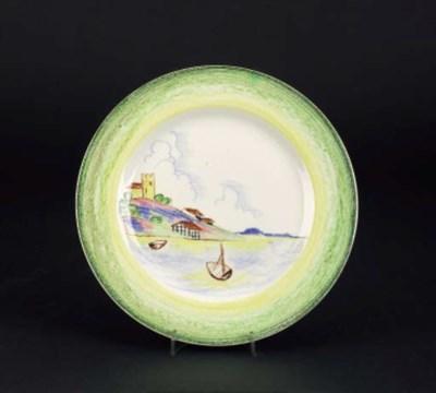 'Crayon' a plate