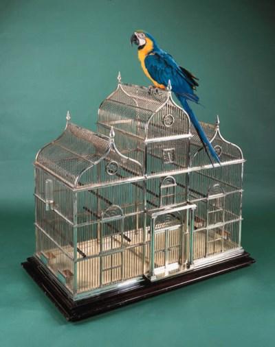A modern, architectural bird c