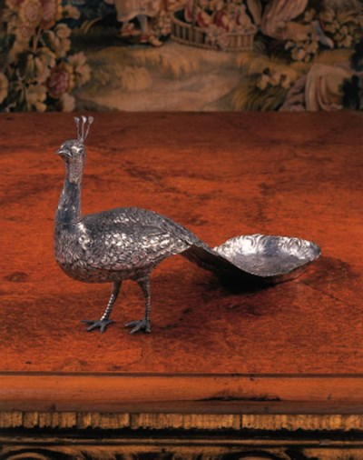 A Continental silver model of