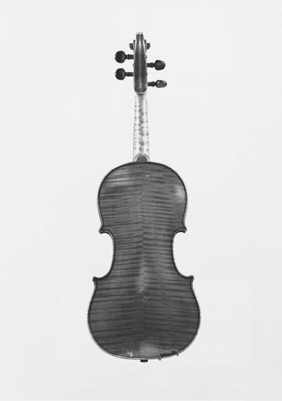 A violin, by Albert Deblaye, l