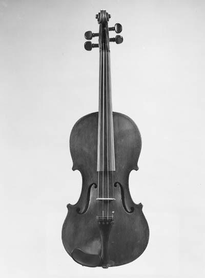 An interesting Italian violin,