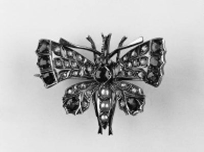 A butterfly brooch,