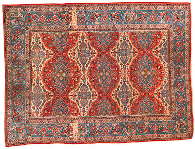 A fine Isfahan carpet, Central Persia