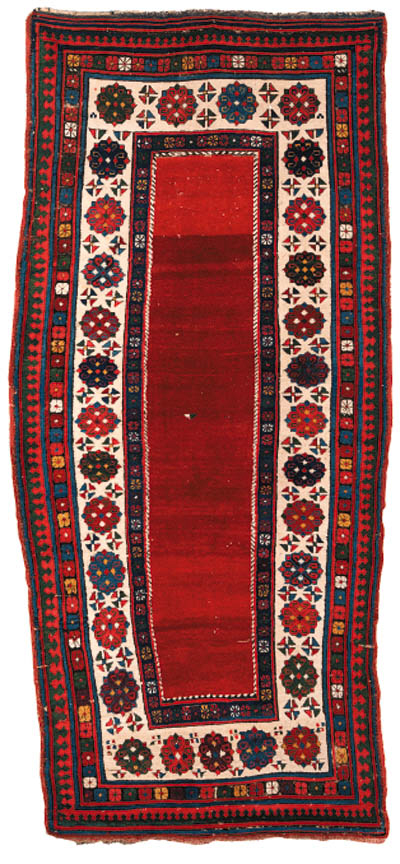 An antique Talish long rug, South East Caucasus