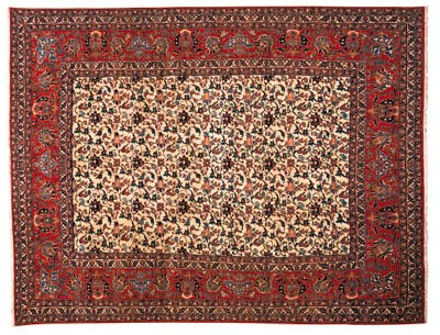 A fine Isfahan carpet, Central