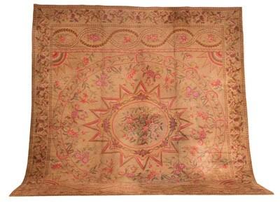 An European carpet of Adam des