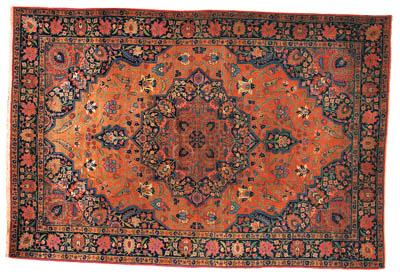 An antique Tabriz carpet, North-West Persia