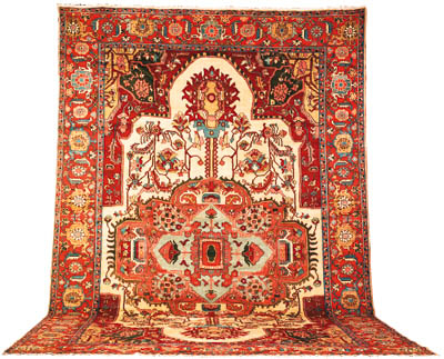 A North-West Persian carpet of