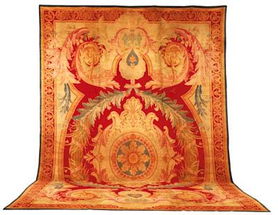 A Savonerie carpet, Probably F