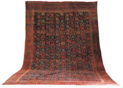 An antique Bijar carpet, North