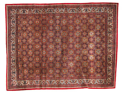 A very fine Kirman carpet, Sou