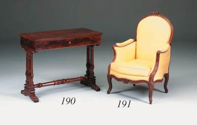 A Louis XV beechwood bergere
