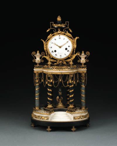 A Louis XVI ormolu mounted whi