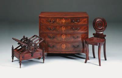 A George IV rosewood Canterbur