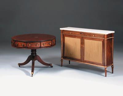 A mahogany and boxwood strung