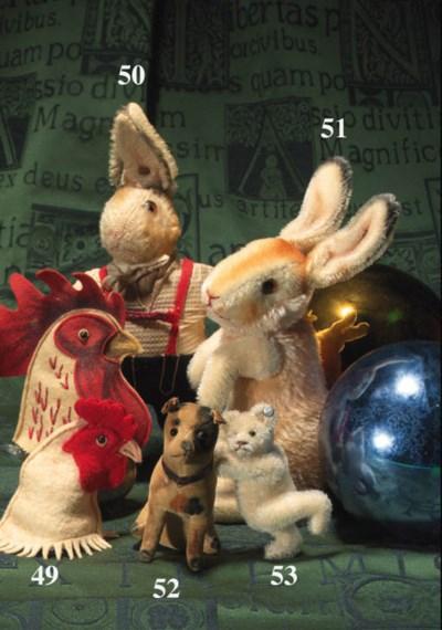 A rare Steiff Rabbit