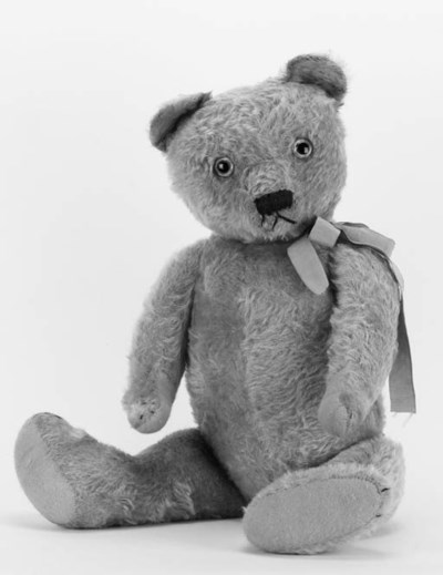 An early English teddy bear
