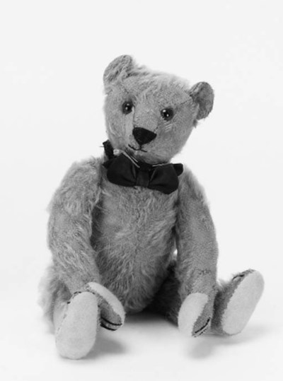 'Keith', a Bing teddy bear