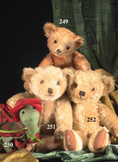 'Nigel',a Dean's teddy bear
