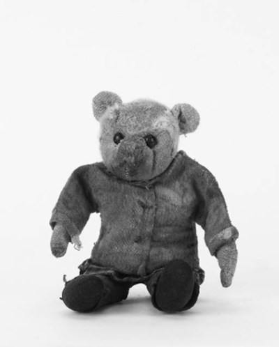 An early Farnell dressed teddy