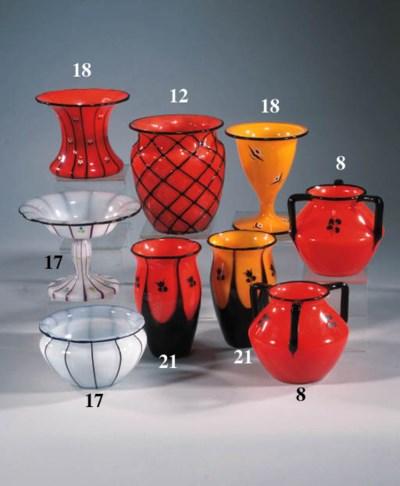 Two Loetz vases