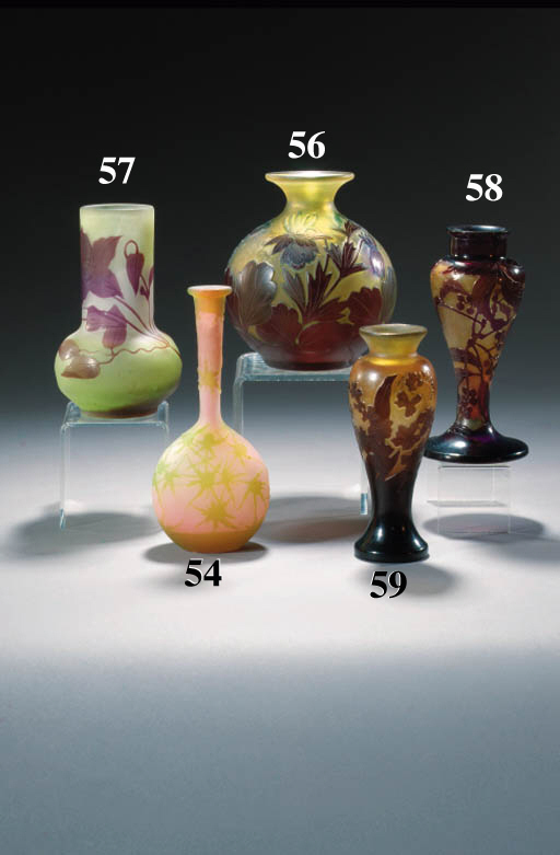 A Gall cameo glass vase
