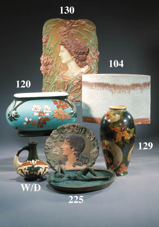 A German pottery jardiniere
