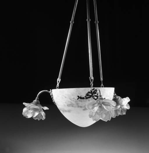 A Muller Freres glass ceiling