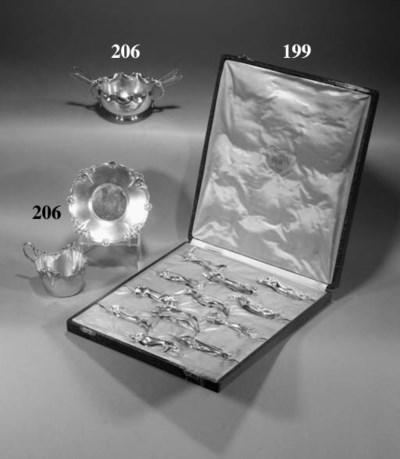 A set of twelve Gallia silvere