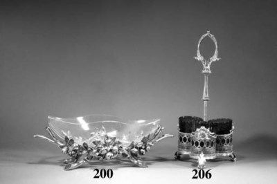 A Christofle silvered metal ce