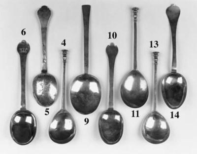 A William III trefid spoon,
