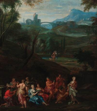 Circle of Hendrik van Balen (1