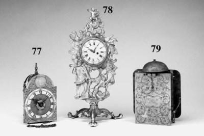 A William and Mary clock movem