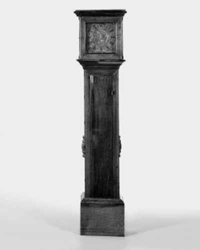 A George III oak 30-hour longc