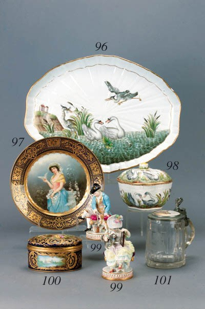 A pair of Meissen groups of ch
