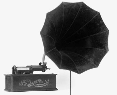 An Edison Home Phonograph,