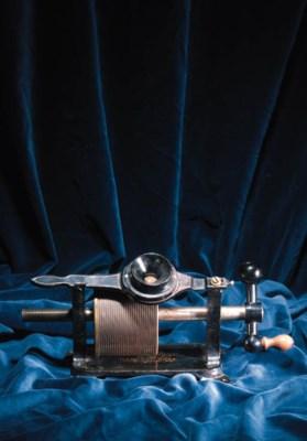A rare Edison Parlor tinfoil p