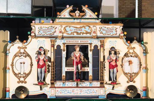 A 48-key fairground organ,