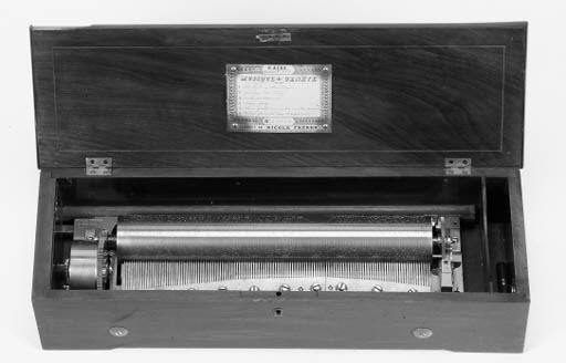 A key-wind piano-forte musical