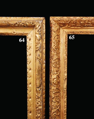 An English carved and gilded f