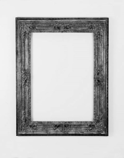 A French gilt composition fram