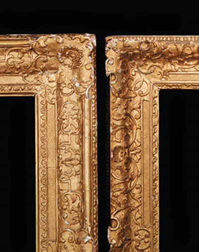 A French Rgence carved and gil