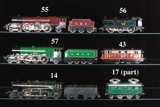 Marescot electric 2-3-1 (4-6-2) Etat  Locomotive No. 231-612 and four-axle bogie Tender No. 22120
