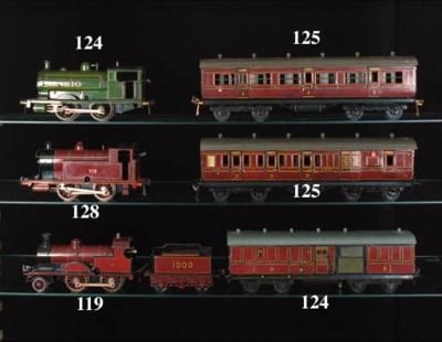 Bing clockwork MR Locomotive,