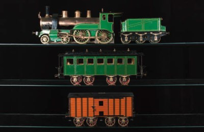 Rare Schnner 75mm. Gauge Train