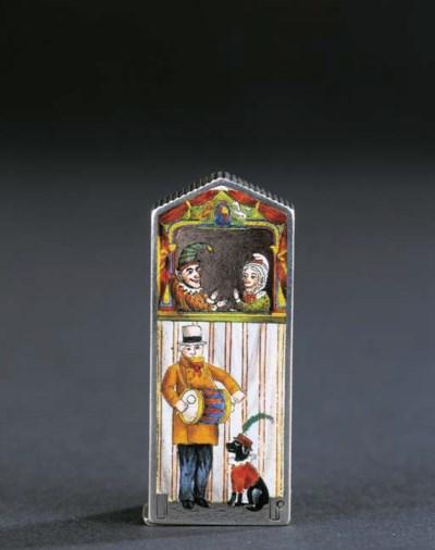 A Victorian vesta case