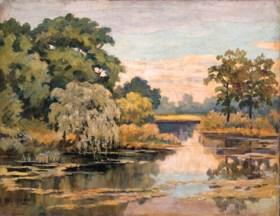 In the style of Nikolai Petrovich Krymov (1884-1958)