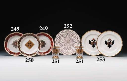 A porcelain Plate from the Eli